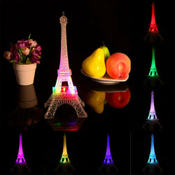3D Eiffel Tower Night Lamp
