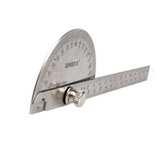 90 x 150 mm stainless steel protractor