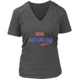 Mom: Just like Dad, only Cooler Tee Shirt