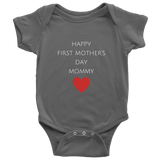 First Mother's Day Onesie