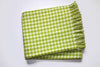 A Soft Idea Perfect Blanket Lime Houndstooth