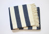 Perfect Blanket Navy Stripe