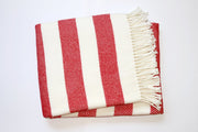 Perfect Blanket Red Stripe