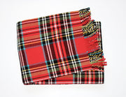 Perfect Blanket Red Tartan Plaid