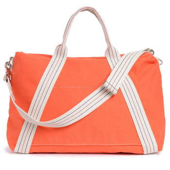 Utility Canvas A-Frame Duffel Orange