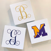 Monogram Bauble Box Vinyl