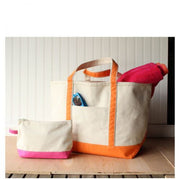 Medium Boat Tote Canvas Makeup
