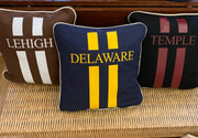 College Stripe Canvas Pillow Vinyl