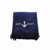 Embroidered Monogram Perfect Blanket Soft Acrylic