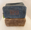 Dopp Kit Waxed Canvas