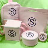 Insulated Snack Square Cooler Tote Backpack Jewel Round