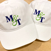 Embroidered Monogram Baseball Cap Hat