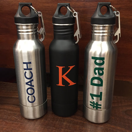 Monogram Insulated Beer Bottle Vinyl