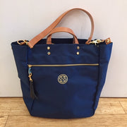 Embroidered Monogram Boulevard Nylon Parker Tote
