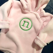 Embroidered Monogram Baby Fleece Jacket Widgeon