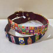 Good Threads Needlepoint Dog Collar