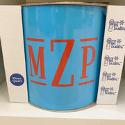 Vinyl Monogram Ice Bucket Made in USA