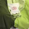 Embroidered Monogram Linen Square Pillow Perfect Blanket