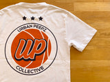 Urban Peepz // Above The Rim Tee in White