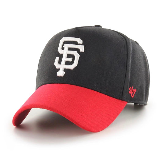 '47 Brand // San Francisco Giants Black Replica '47 MVP DT Snapback