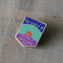 The World is Big - John Muir - Enamel Pin