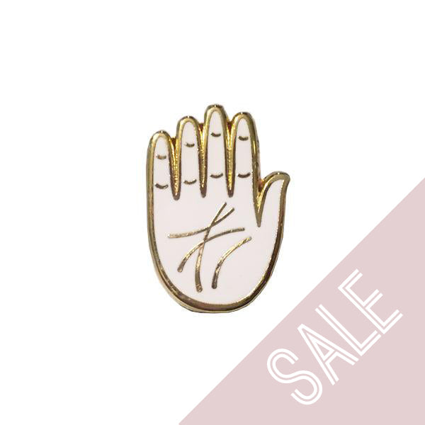 Palm Pin *White*