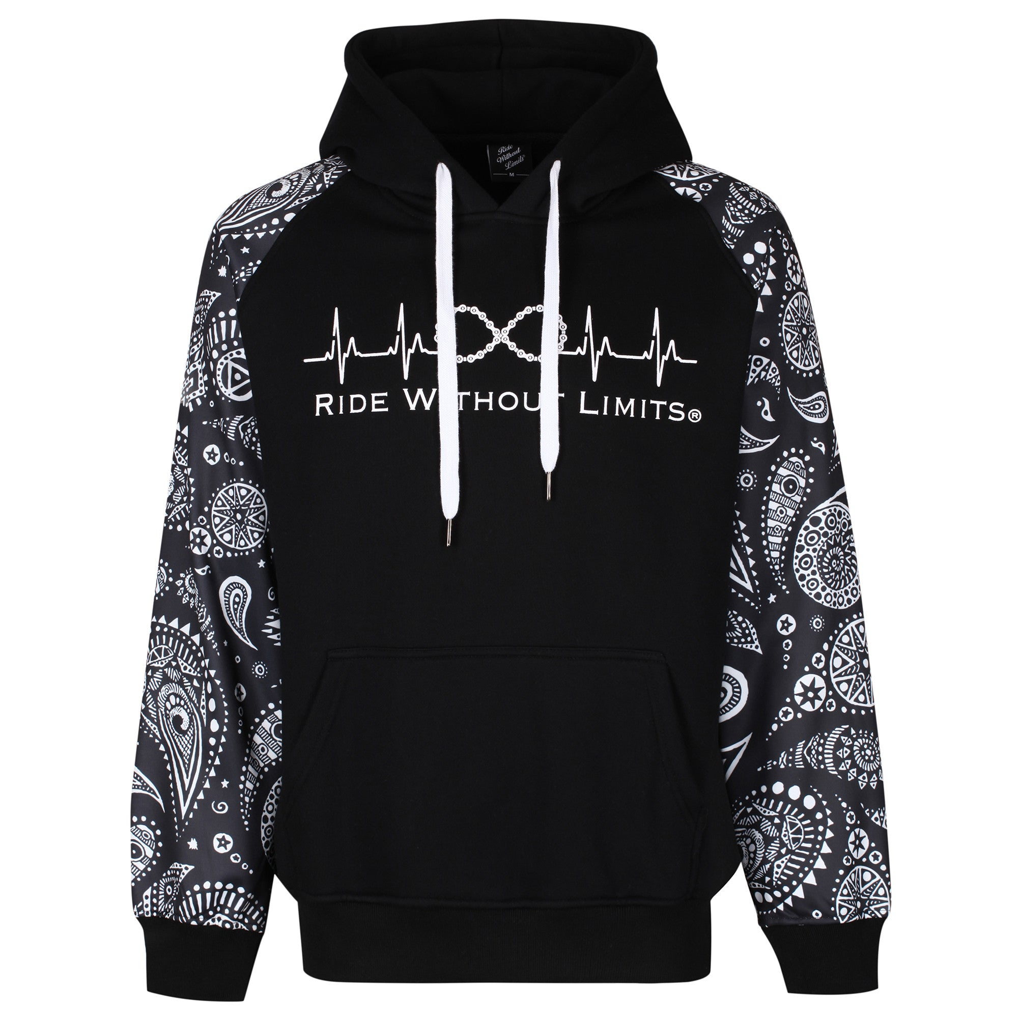Ride Without Limits Signature Paisley Hoodie