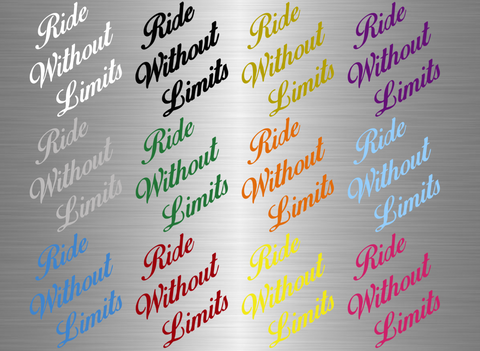Ride Without Limits Signature Logo