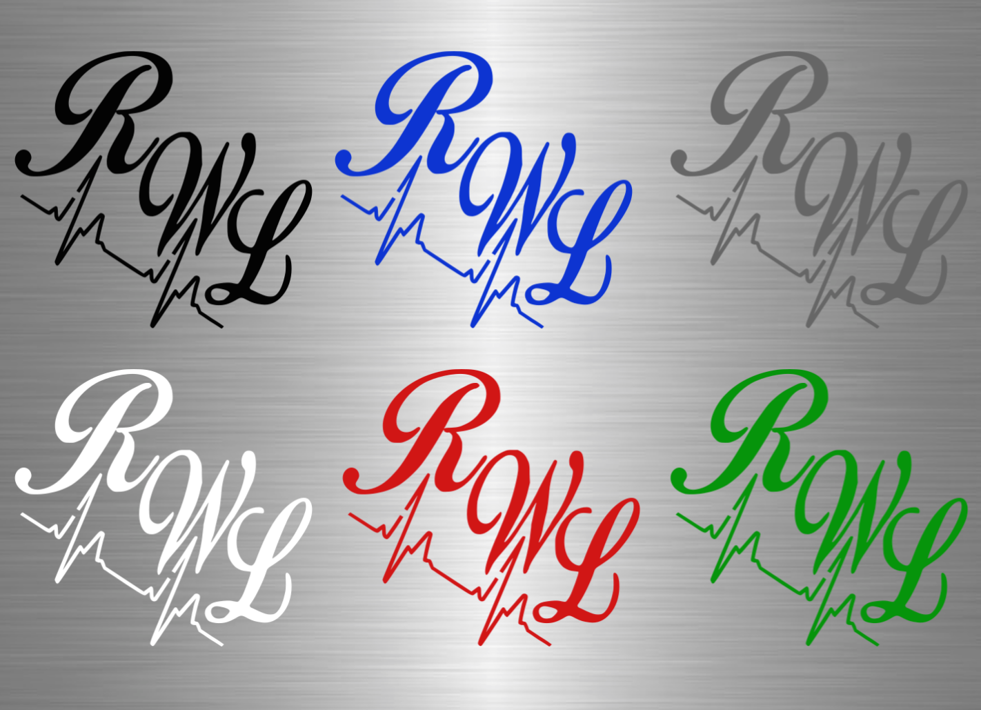 RWL x Heartbeat Vinyl Decal
