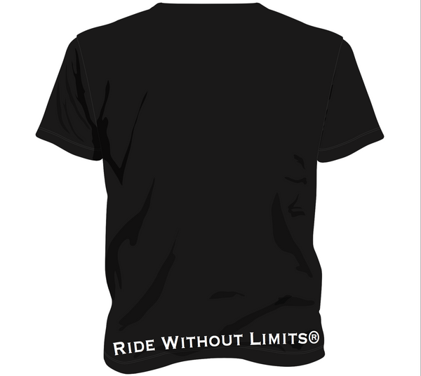 Ride Without Limits Chest Logo Tee - Ride Without Limits
