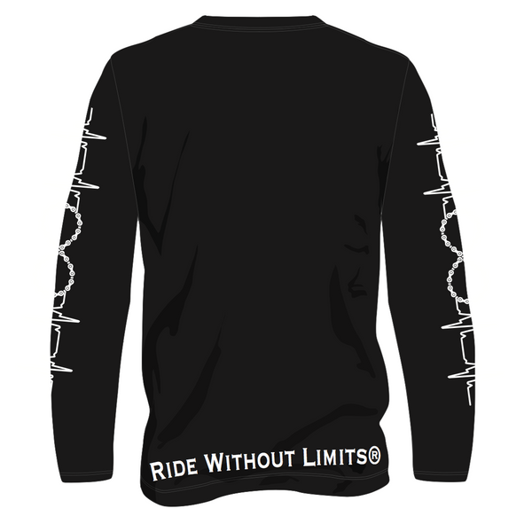 Live To Ride Long Sleeve Tee - Ride Without Limits