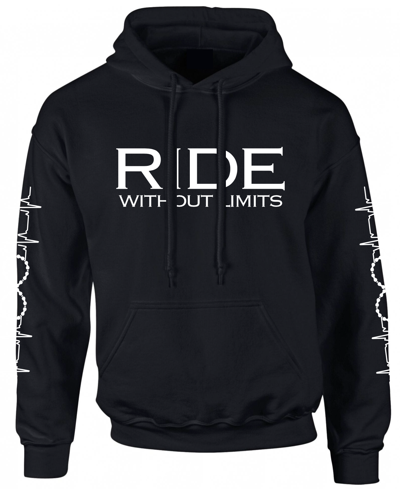 RIDE Without Limits Hoodie W/Sleeves