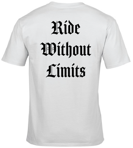 Ride Without Limits Amador Tee - White