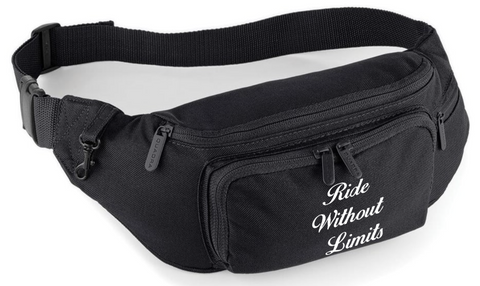 Ride Without Limits Signature Logo Waist Bag