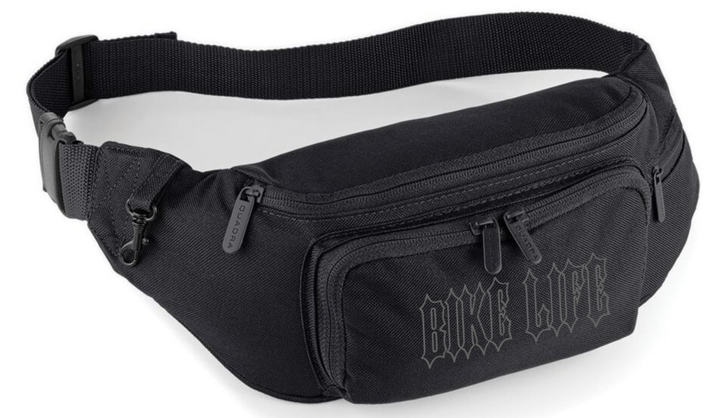 BIKE LIFE Waist Bag - Reflective Black