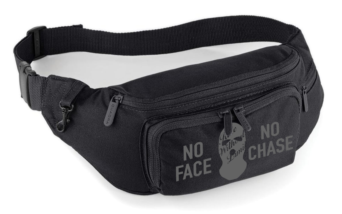 No Face No Chase Waist Bag - Reflective