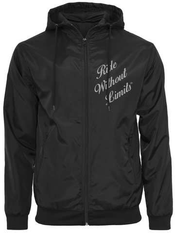 Ride Without Limits Signature Windrunner - Reflective Silver