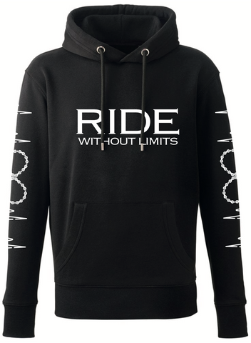 RIDE Without Limits Premium Hoodie W/Sleeves - Black