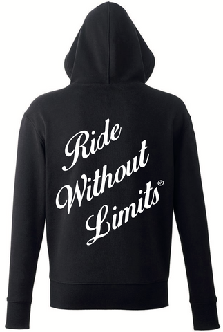 Ride Without Limits Premium Stealth Hoodie - Black