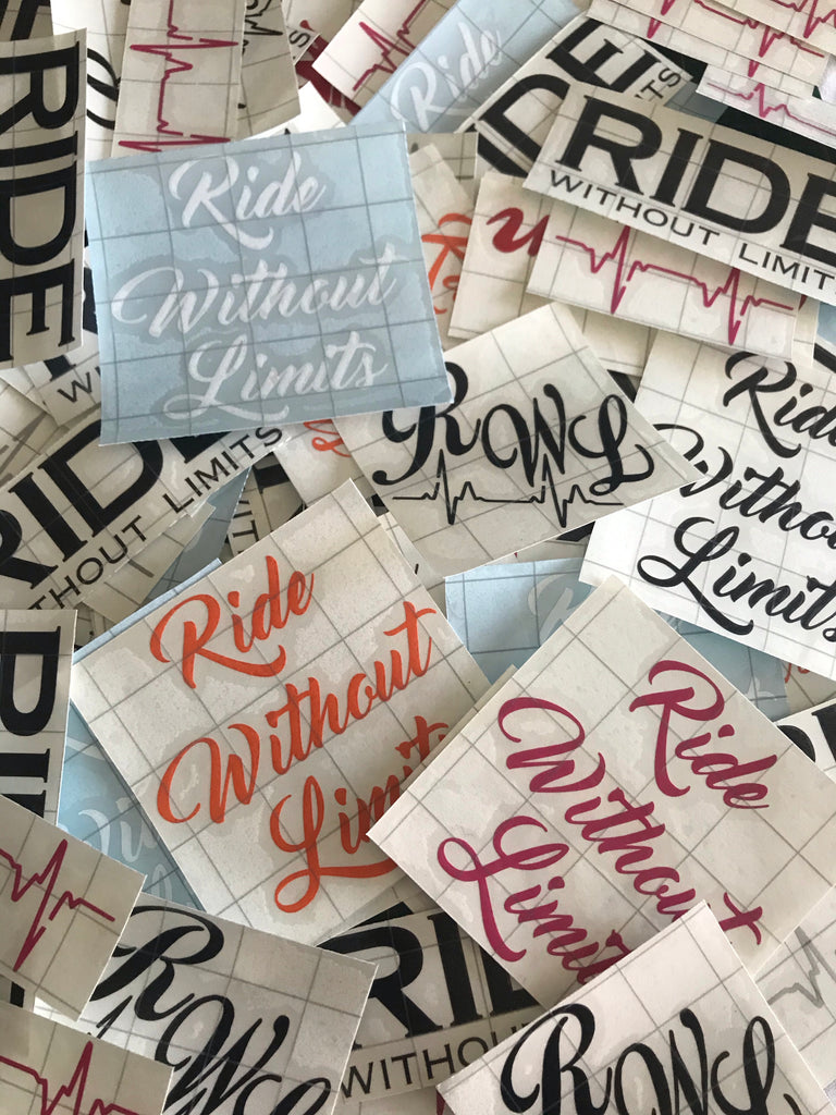 3 x Random Decal Bundle - Ride Without Limits