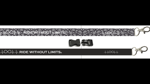 Ride Without Limits Lanyard