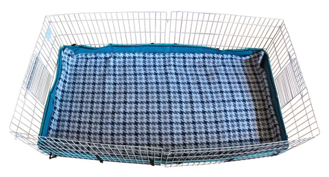 Midwest Cage Liner | Houndstooth