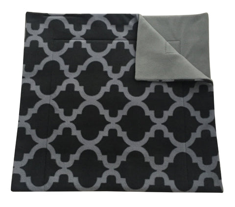 Image of Midwest Cage Liner | Gray Quatrefoil