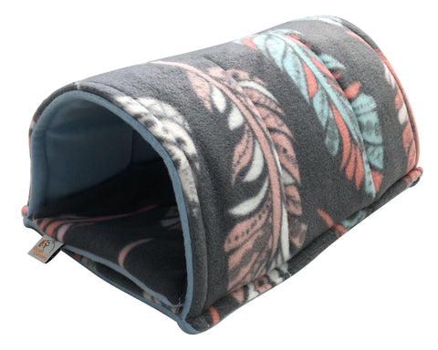 Image of Guinea Pig Tunnel | Feathers on Gray