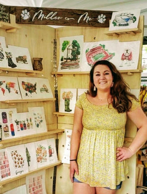 Local Athens Artist Shelby Gilbreath