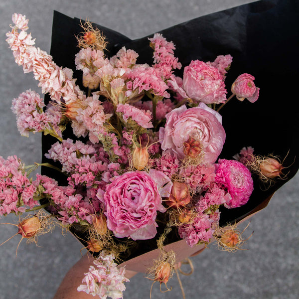 Pink - Dried Bouquet