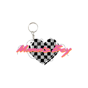 Barbed Heart Keychain