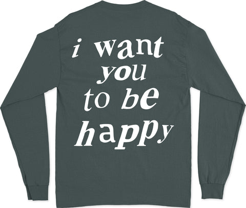 HAPPY L/S T-SHIRT