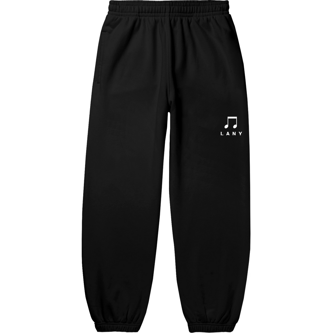 music notes sweatpants