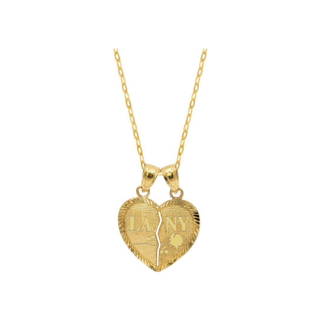 lany heart necklace